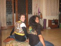 wendy and Simona - New Delhi