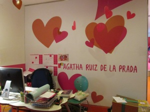 headoffice of Agatha Ruiz de la Prada, Madrid, Spain
