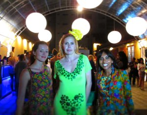 Deneth and Lucile with Agatha CFW 2013