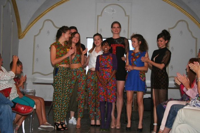 Fashion show at Mairie de Saze, Avignon, France