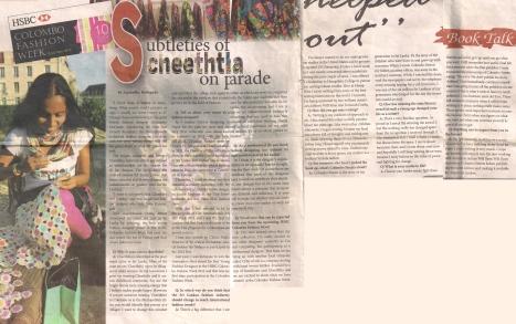 The Sunday Observer, Sri Lanka - 2013
